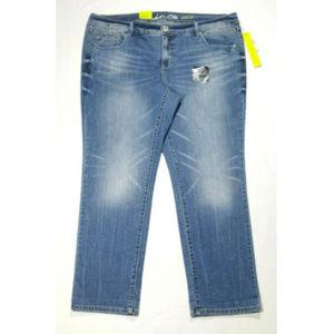 INC Petite Plus Size 18WP Straight Jeans 2728E1